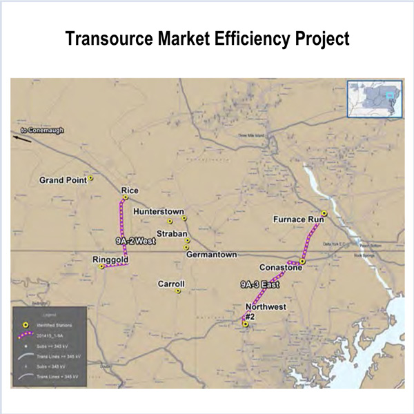 PJM Transource Independence Energy Connection