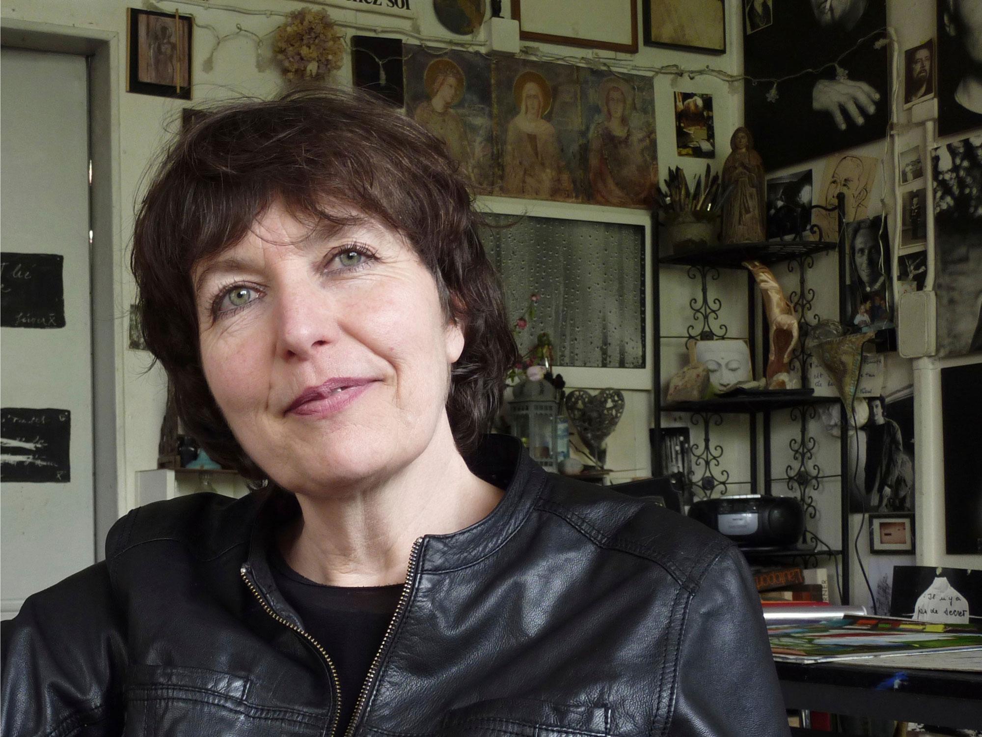 Marie-José Imsand, plasticienne. [Charles Sigel - RTS]
