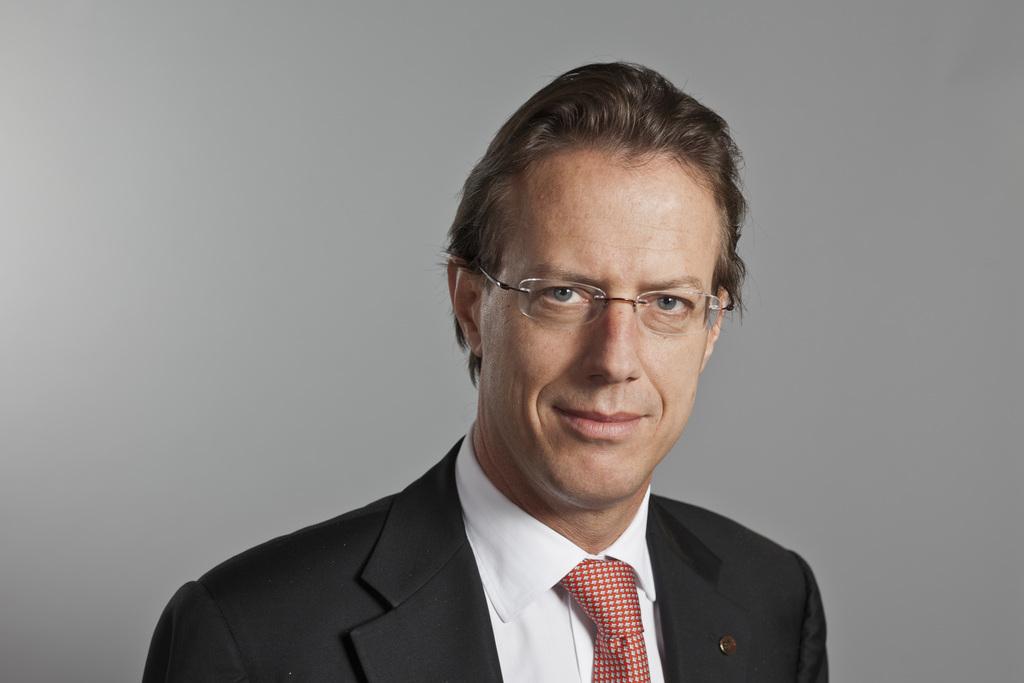 Christian Lüscher, conseiller national (PLR/GE). [Gaétan Bally - Keystone]