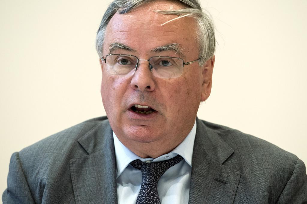 Le conseiller national UDC fribourgeois Jean-François Rime, également président de l'Union suisse des arts et métiers (USAM).