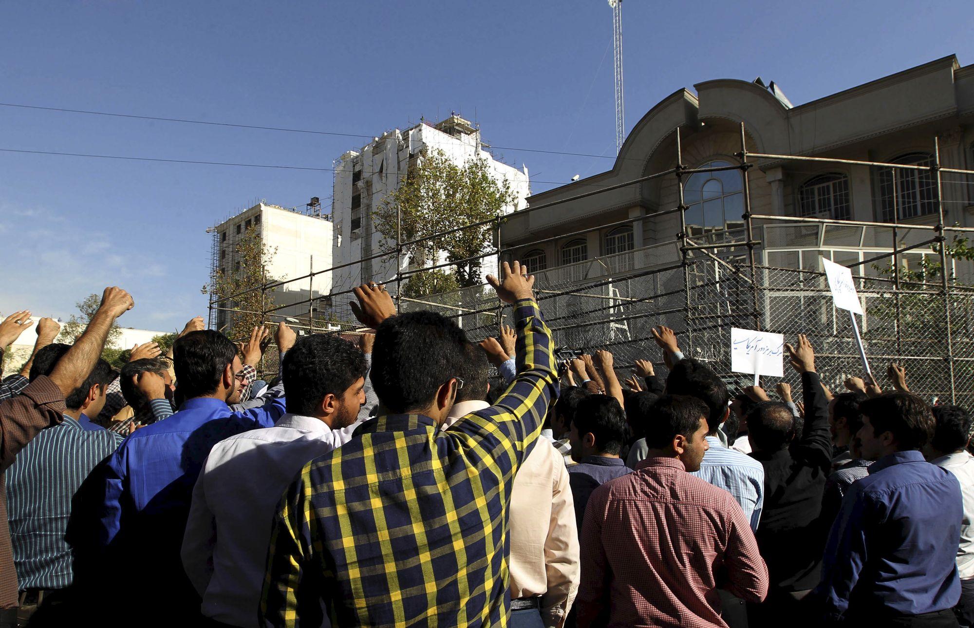 L'ambassade saoudienne à Téhéran avait déjà été la cible de manifestations à la suite de la bousculade mortelle lors du pèlerinage à la Mecque au mois de septembre 2015.