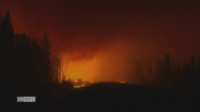 Images inédites des feux au Canada
