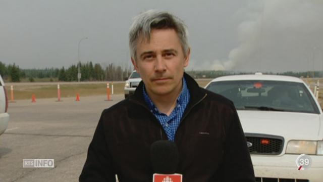 Canada - Incendie: le point avec Frédéric Arnould, de Radio Canada