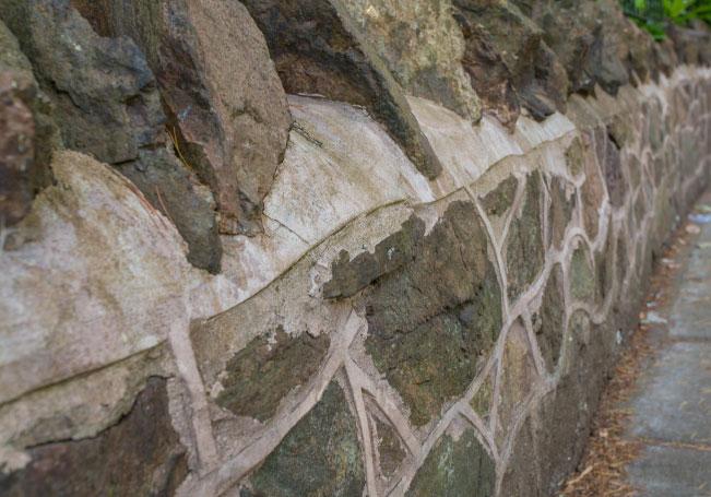 Malvern Stone Wall