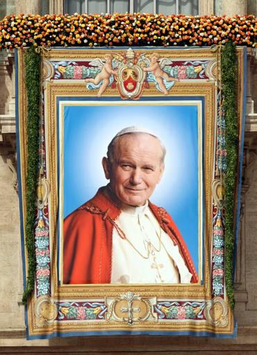 Foto oficial Beato João Paulo II