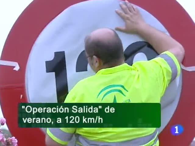 Ir al VideoNoticias Andalucia 01/07/11