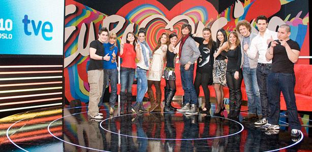 """Sigue el minuto a minuto del ensayo general de la gala final de Eurovisión 2010 de TVE """"Destino Oslo"""""""