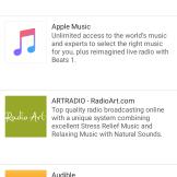 Sonos Port: przykładowe serwisy muzyczne (1)