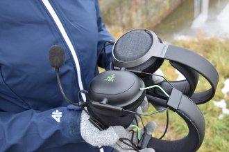 Rozmiar Philips Fidelio X3 vs. słuchawki gamingowe 3 / fot. techManiaK