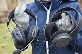 Rozmiar Philips Fidelio X3 vs. słuchawki gamingowe 2 / fot. techManiaK