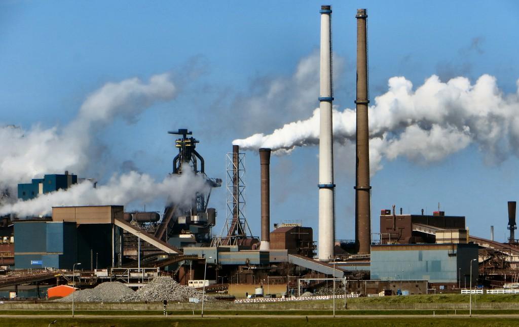 TATA Steel IJmuiden in zwaar weer