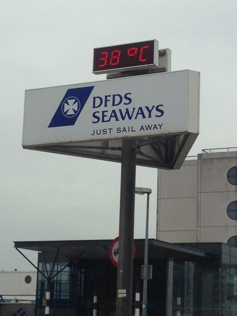 Het weer: 38 graden en zon op Sluisplein