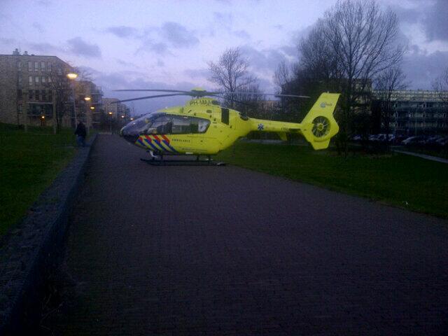 Traumahelikopter in Duinpark voor gevallen vrouw
