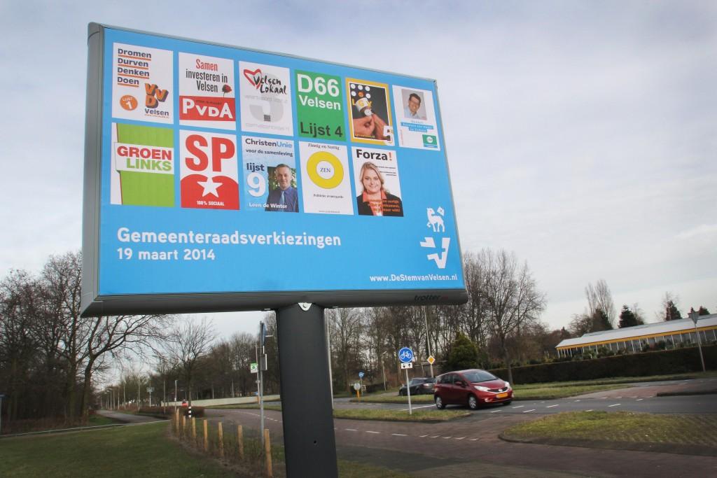 Lokale partijen beginnen nieuwe partij