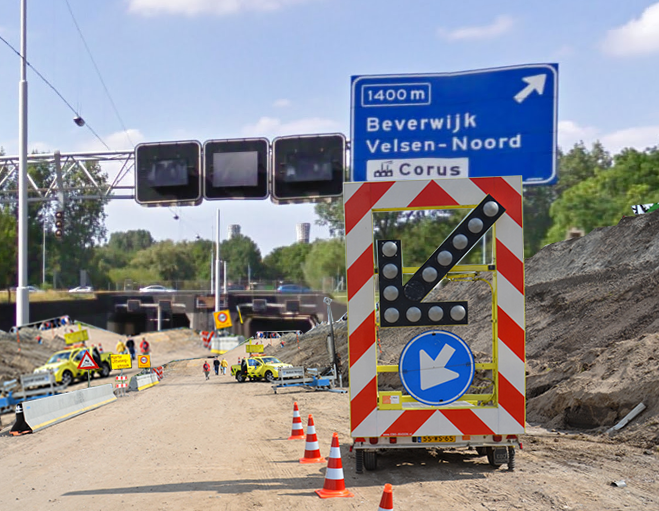 Velsertunnel in 2016 volledig dicht