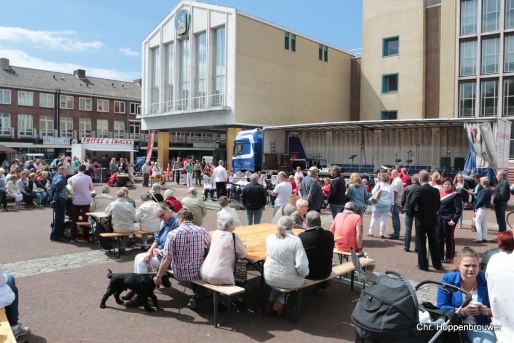 Live muziekevenement IJmuider Harmonie