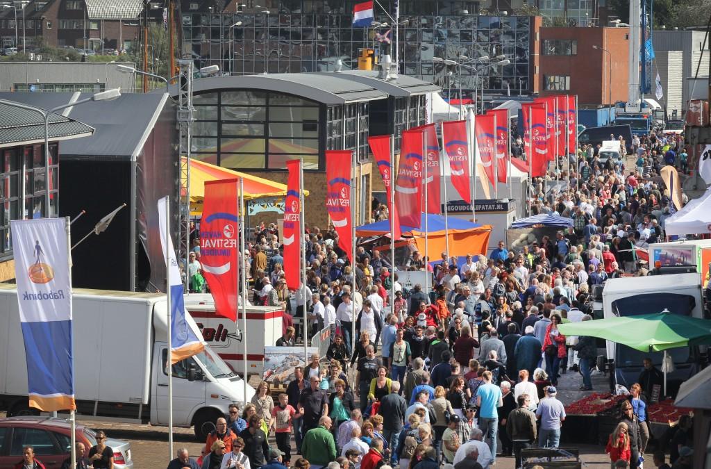 Veel bekijks op zonnig Havenfestival
