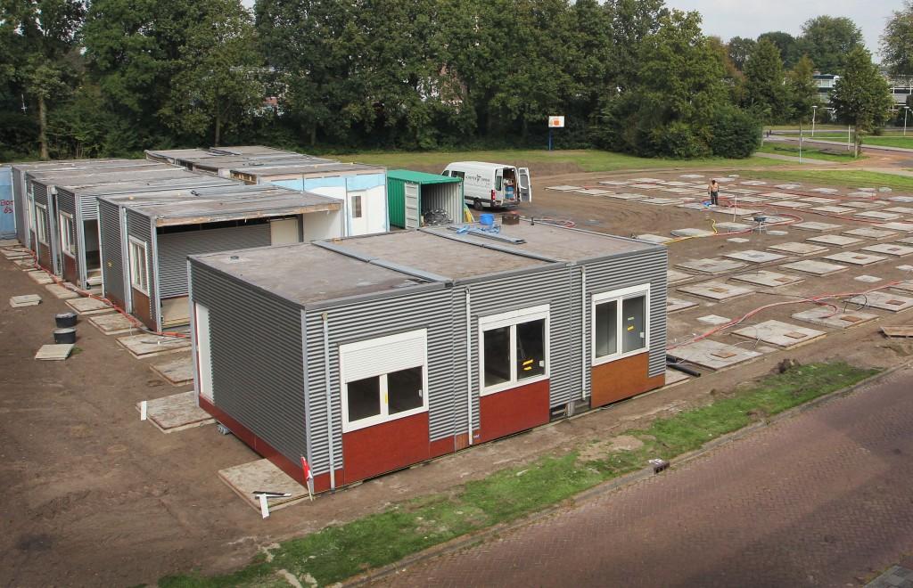 Bouw noodschool Santpoort-N gestart
