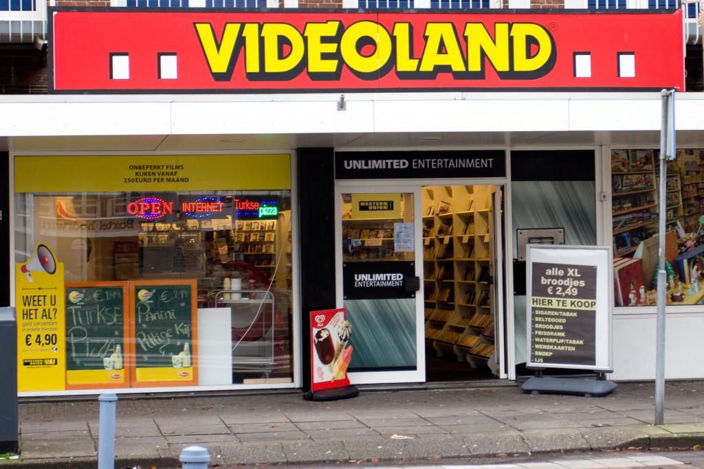 Videoland IJmuiden sluit de deuren