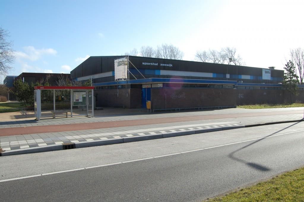 Sporthal Zeewijk is niet meer