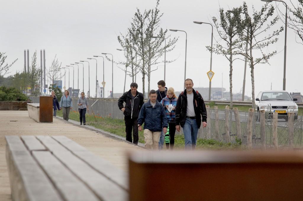 Vissenloop IJmuiden