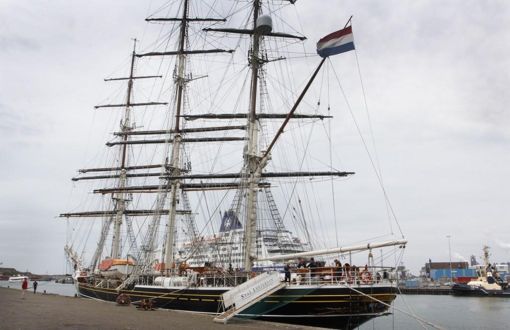 Stad Amsterdam - PreSail