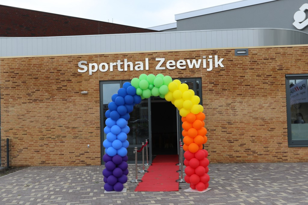 Sporthal Zeewijk opening
