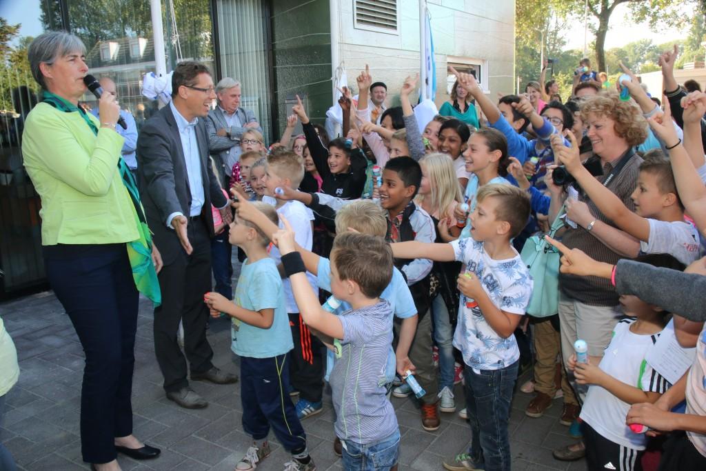 In beeld: opening Brede School