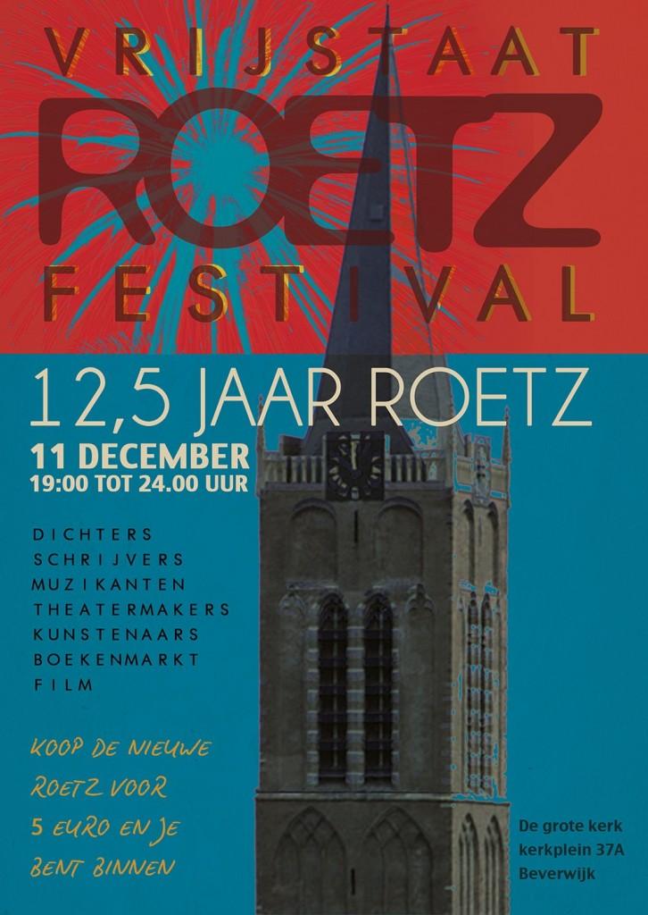 Conny Braam naar Roetz festival