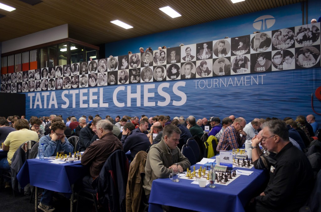 Tata Steel Chess on Tour naar PSV Stadion