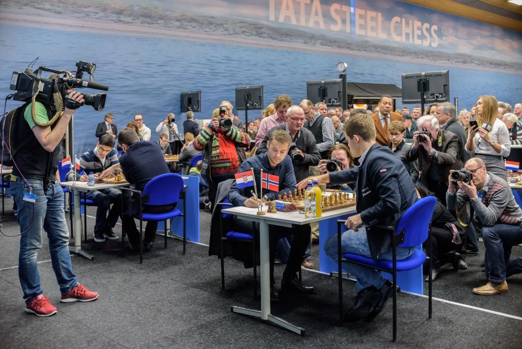 Internationale aandacht Tata Steel Chess