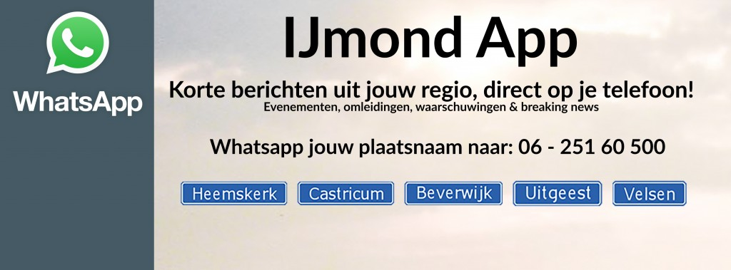 Snel op de hoogte dankzij IJmond App