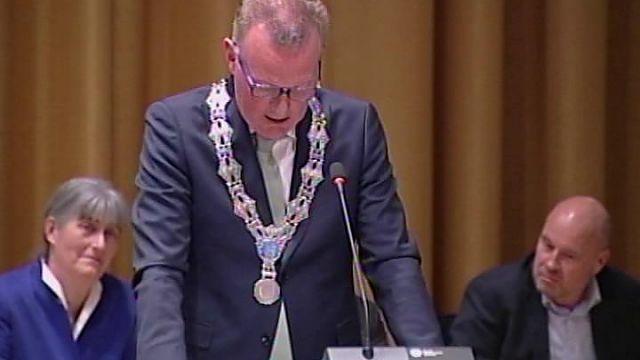 Raadsplein TV: Nieuwe burgemeester