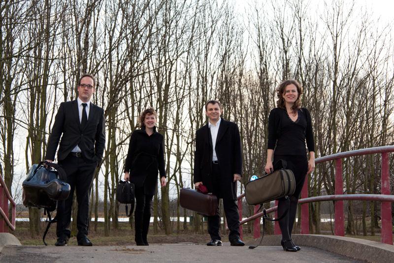 Het Gaudi Kwartet in 't Mosterdzaadje