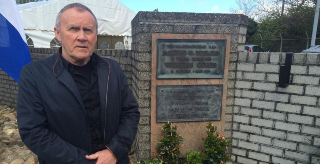 Eindelijk gedenkteken in Velsen-Noord