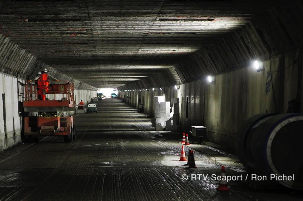 Werkzaamheden Velsertunnel