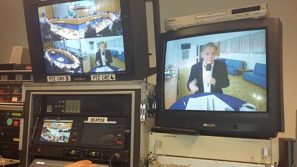 Behandeling Perspectiefnota live op TV