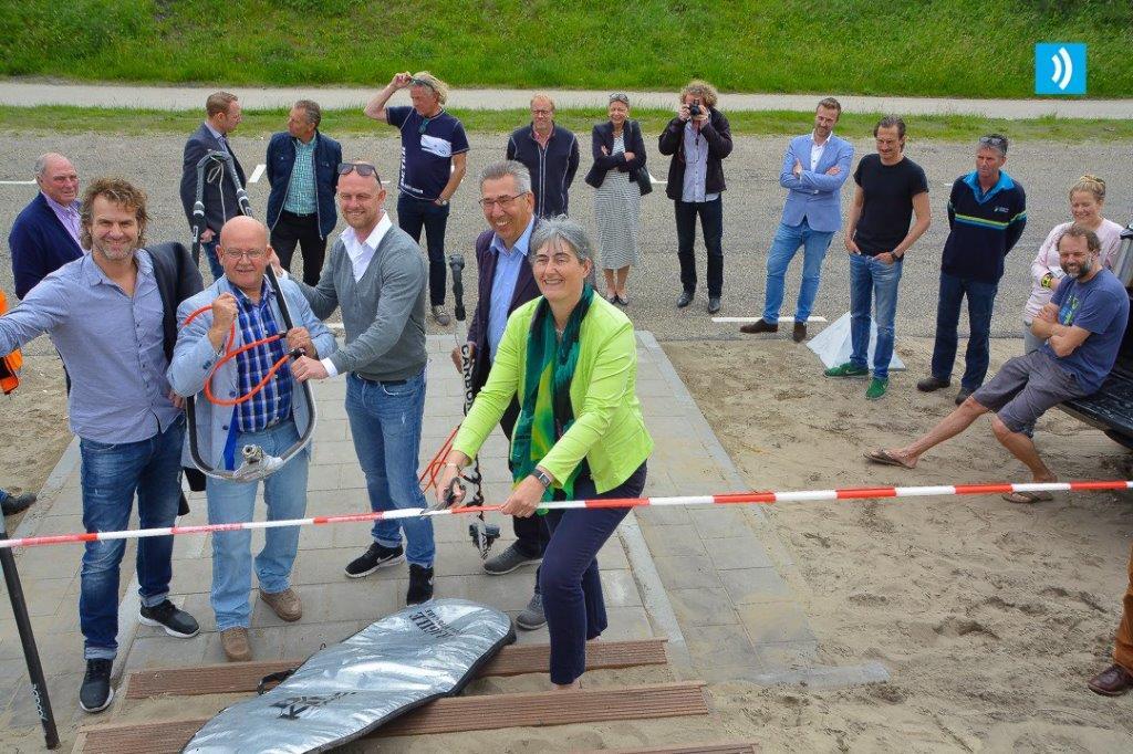 Nieuwe strandopgang geopend