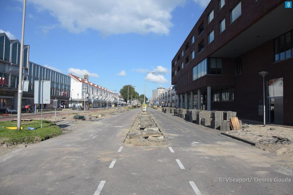 Reconstructie Lange Nieuwstraat: 4e fase van start