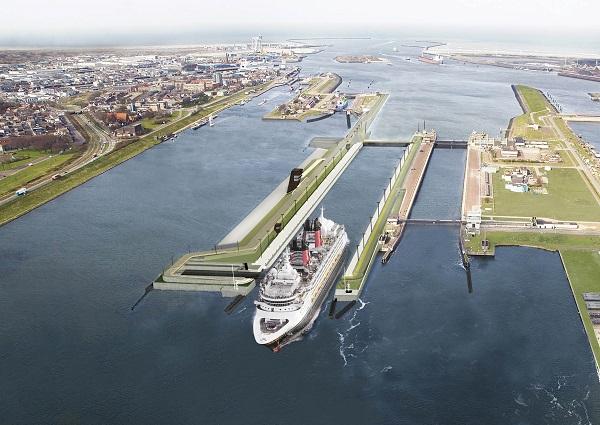Vragen rond toekomst nieuwe zeesluis