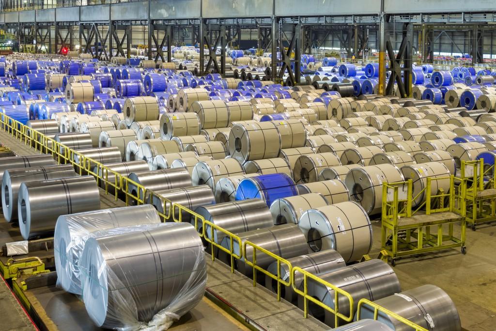Nieuwe opslaghal voor Tata Steel
