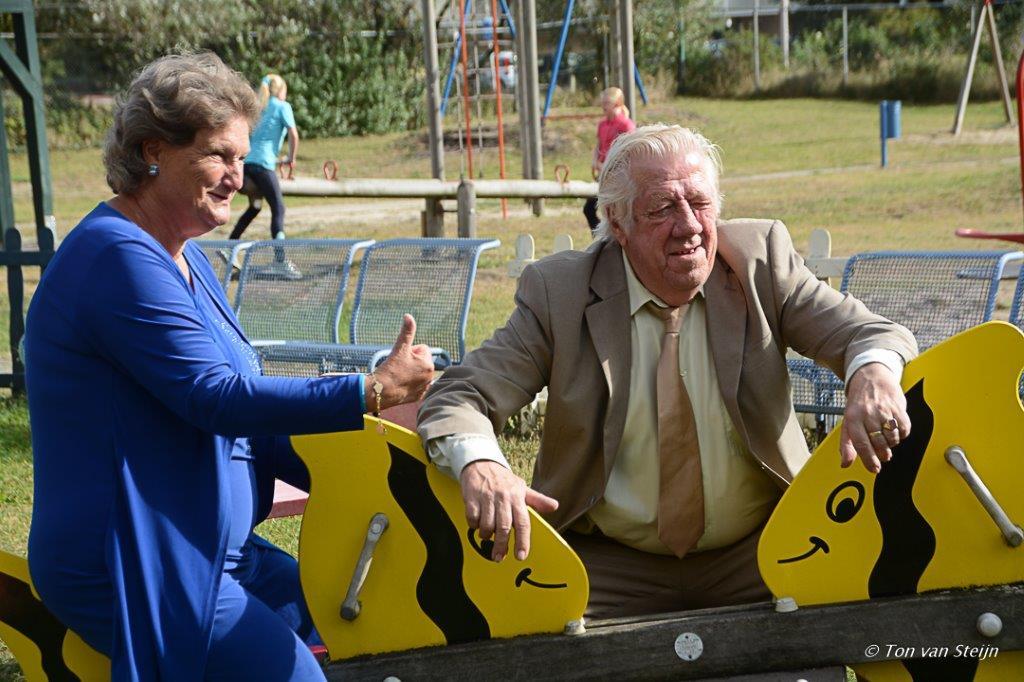 Groots afscheid tante Suus en oom Bert