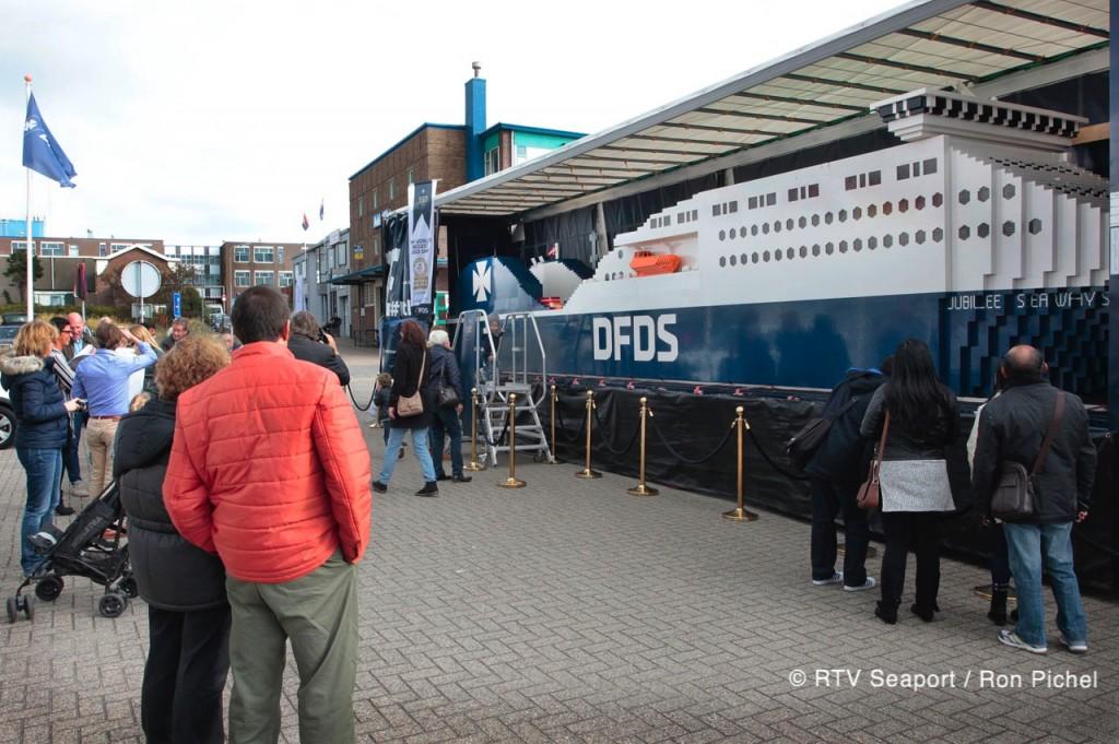 Lego schip DFDS