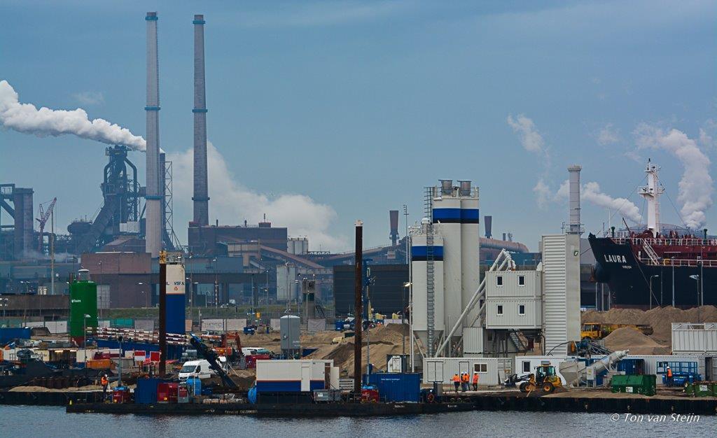Cementfabriek en SHIP