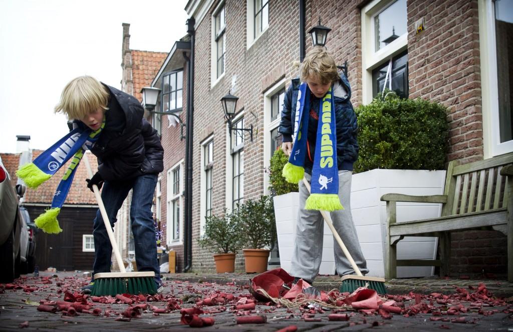 Nederlander gaat weer 'Nieuwjaarsvegen'