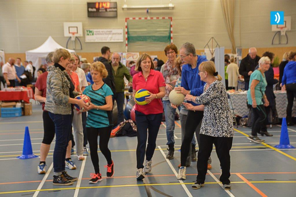 Gezondheidsbeurs in Sporthal Zeewijk