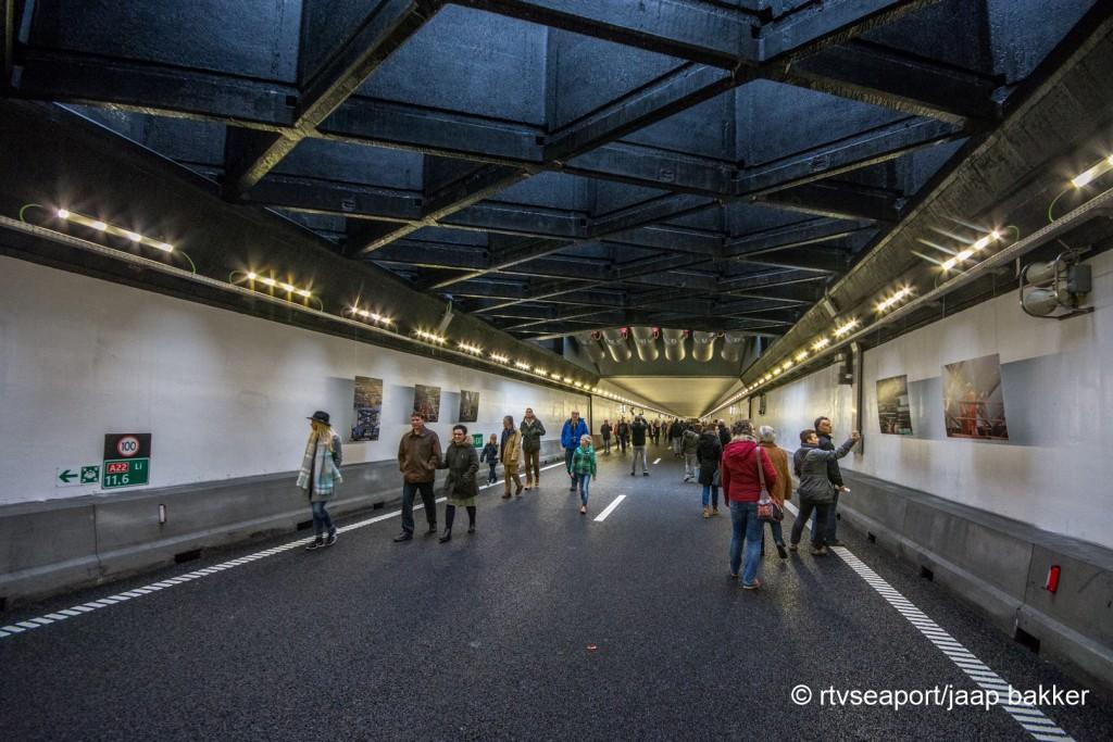 Open huis in de Velsertunnel