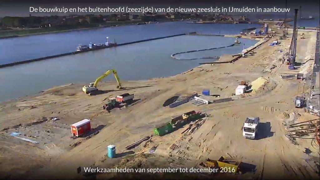 Volgende stap bouw nieuwe zeesluis