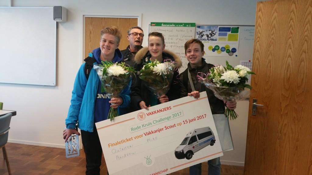 2e prijs voor leerlingen Technisch College Velsen