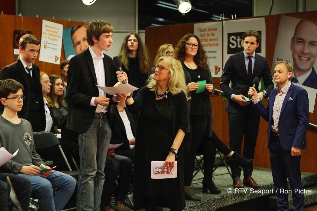 7 maart tv-debat voor en door jongeren